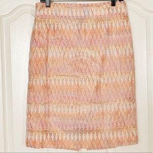 J Crew Collection Pencil Skirt SZ 8